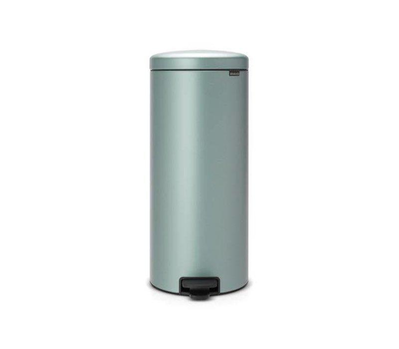 Brabantia Pedaalemmer 29 Liter.Brabantia Brabantia Pedaalemmer Newicon 30 L Metallic Mint