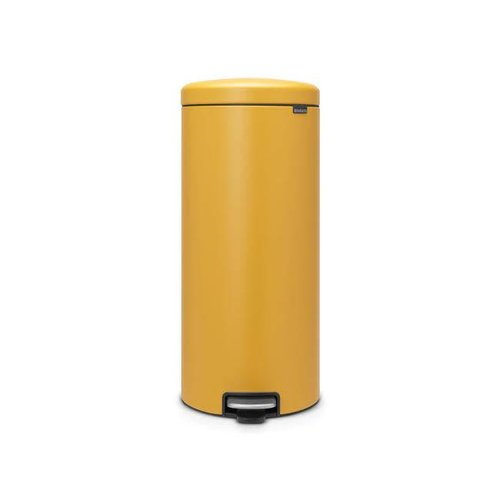 Brabantia - pedaalemmer newicon (30 l) - mineral mustard yellow