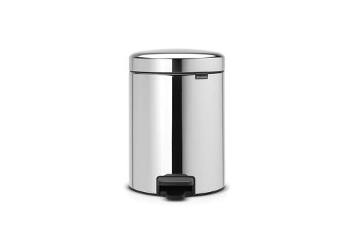 Brabantia Brabantia - pedaalemmer newicon (5 l) - brilliant steel (metalen binnenemmer)