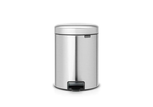 Brabantia Brabantia - pedaalemmer newicon (5 l) - matt steel (fingerprint proof)