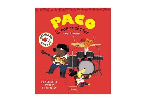 Clavis Clavis - geluidenboekje - paco is een rockster