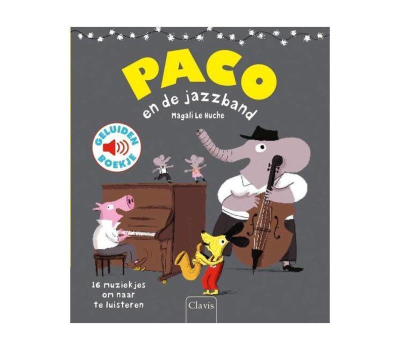 Clavis - geluidenboekje - paco en de jazzband