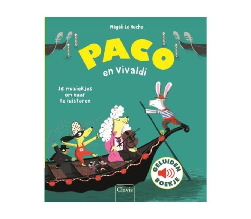 Clavis - geluidenboekje - paco en vivaldi