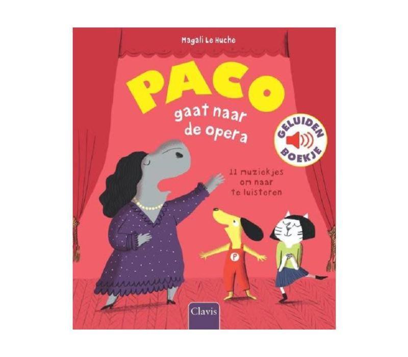 Clavis - geluidenboekje - paco gaat naar de opera