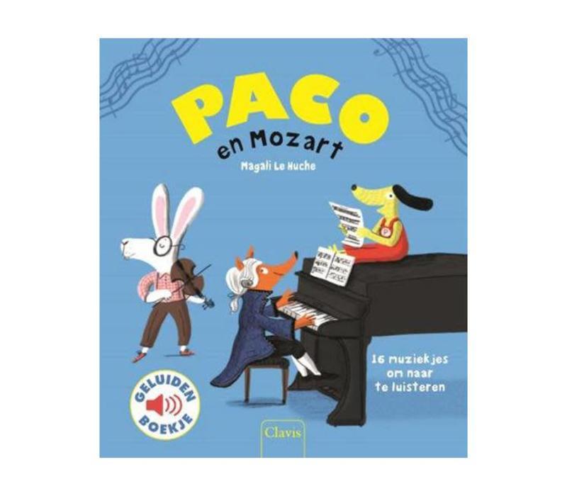 Clavis - geluidenboekje - paco en mozart