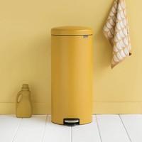 Brabantia - pedaalemmer newicon (30 l) - mineral mustard yellow