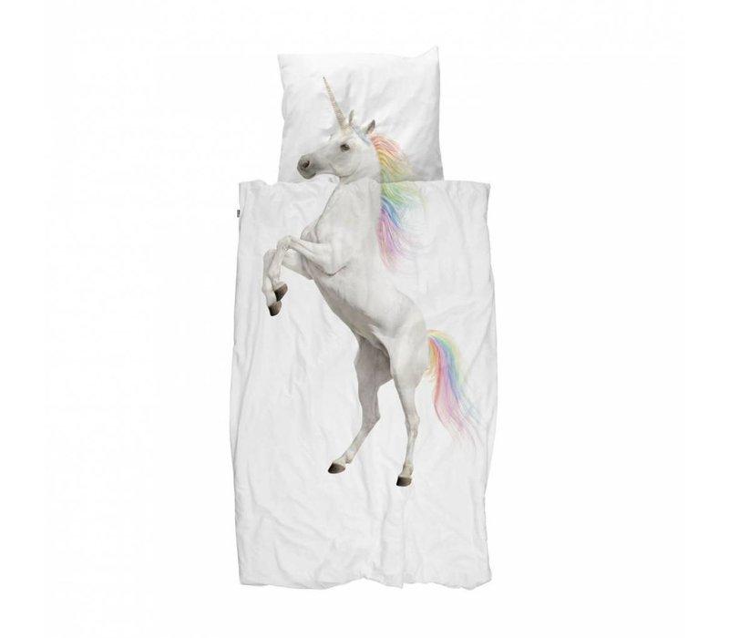 Snurk - dekbedovertrek - unicorn