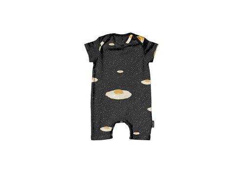 Snurk Snurk - baby playsuit - eggs in space
