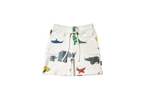 Snurk Snurk - kids shorts - paper zoo