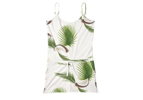 Snurk Snurk - dames playsuit - coconuts