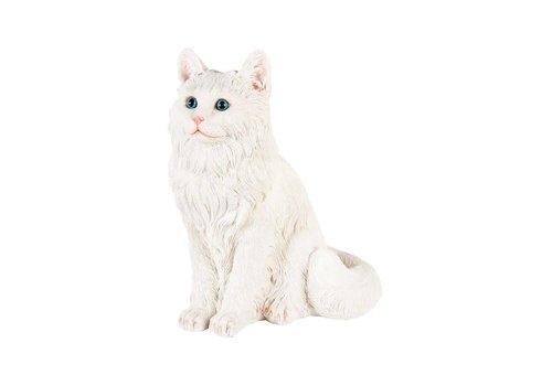 &Klevering &Klevering - spaarpot - witte kat