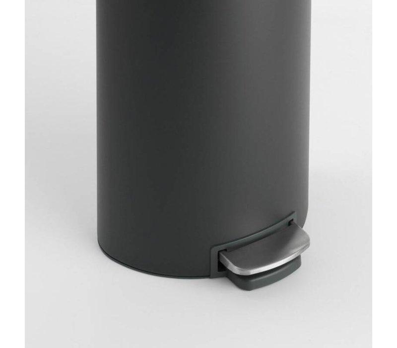 Brabantia - pedaalemmer flatback (30 l) - mineral infinite grey