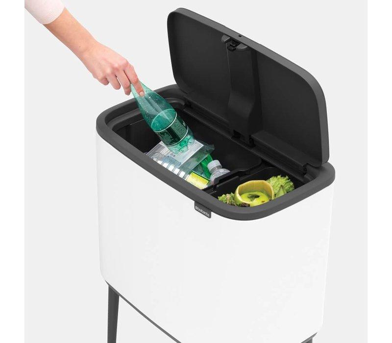 Brabantia - bo touch bin (3 x 11 l) - white