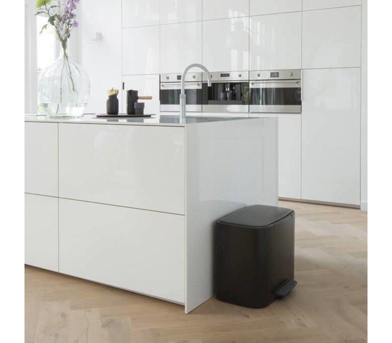 Brabantia - bo pedaalemmer 3 x 11 L - matt black