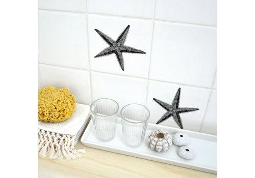 Boubouki Boubouki - tegelsticker - starfish (2 tegels)