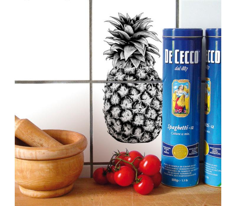 Boubouki - tegelsticker - ananas (2 tegels)