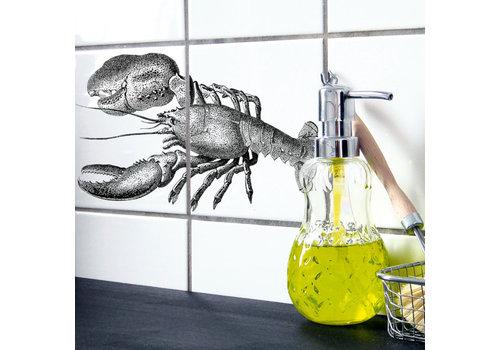 Boubouki Boubouki - tegelsticker - lobster (2 tegels)