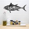 Boubouki Boubouki - tegelsticker - tonfisk (8 tegels)