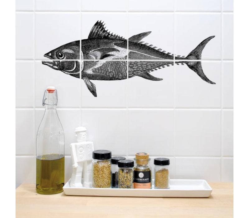 Boubouki - tegelsticker - tonfisk (8 tegels)