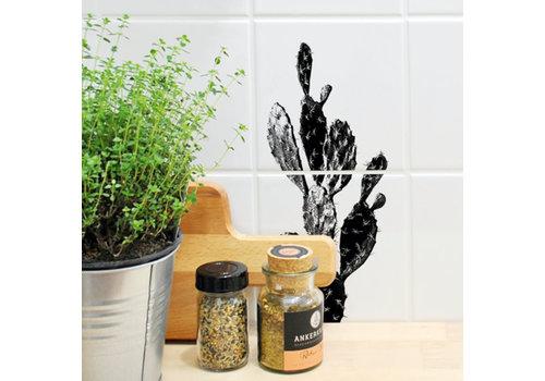 Boubouki Boubouki - tegelsticker - kaktus (2 tegels)