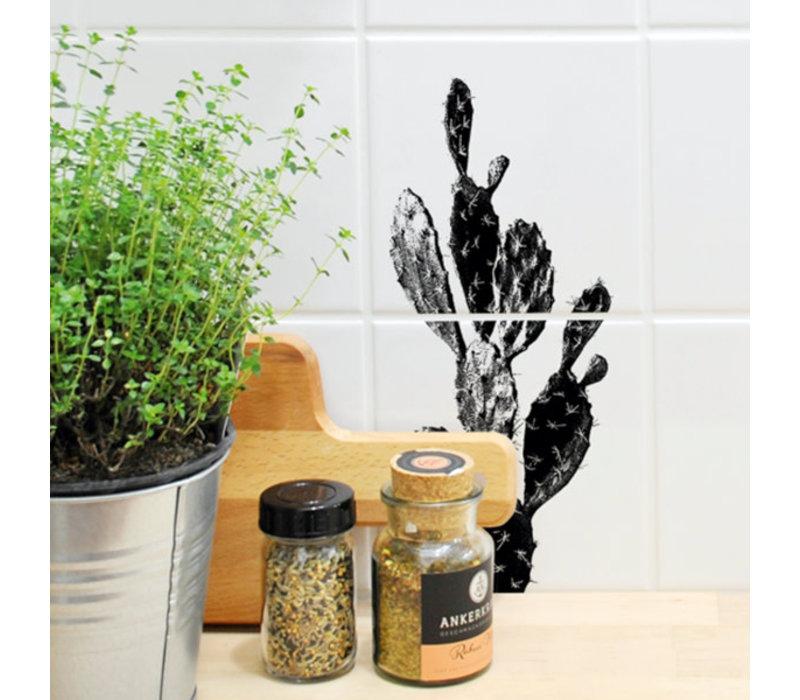 Boubouki - tegelsticker - kaktus (2 tegels)
