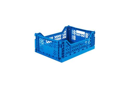 Lillemor lifestyle Lillemor lifestyle - opvouwkrat midi - blue