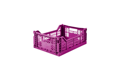 Lillemor lifestyle Lillemor lifestyle - opvouwkrat midi - purple
