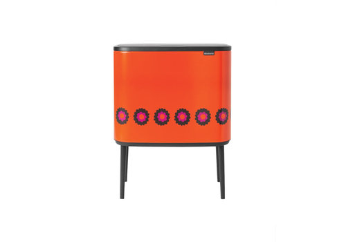Brabantia Brabantia - bo touch bin (11 + 23 l) - orange flower power
