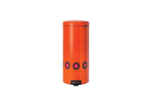 Brabantia Brabantia - pedaalemmer newicon (30 l) - orange flower power