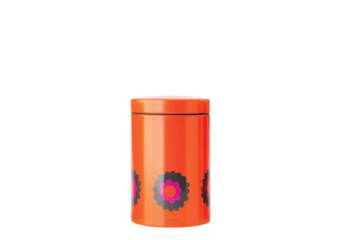Brabantia Brabantia - voorraadbus (1,4 l) - orange flower power