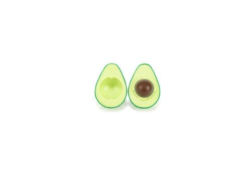 Kikkerland Kikkerland - avocado  lippenbalm