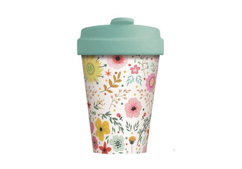 Chic mic Chic mic - bamboo cup - prairie flowers