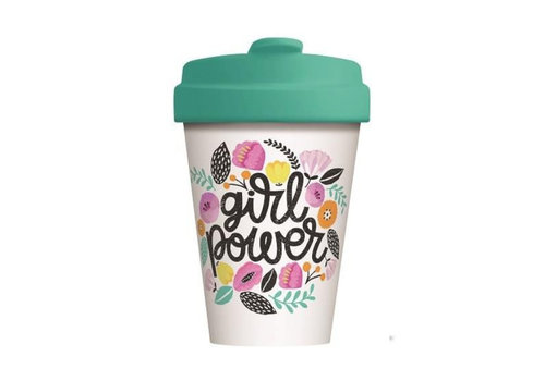 Chic mic Chic mic - bamboo cup - girl power