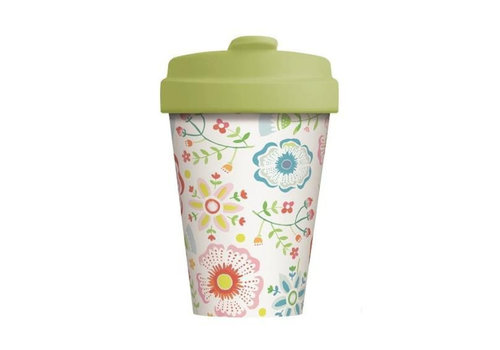 Chic mic Chic mic - bamboo cup - skandinavian floral