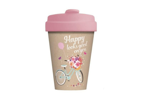 Chic mic Chic mic - bamboo cup - happy looks good