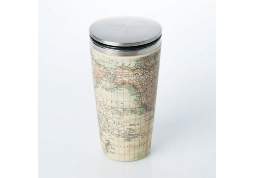 Chic mic Chic mic - bamboo cup deluxe - antique map