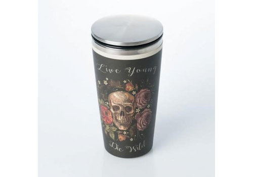 Chic mic Chic mic - bamboo cup deluxe - skull