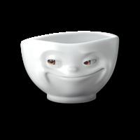 Tassen - magneet - grijnzend
