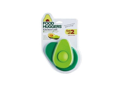 Kitchen Craft Kitchen Craft - avocadohouders (siliconen, set van 2)