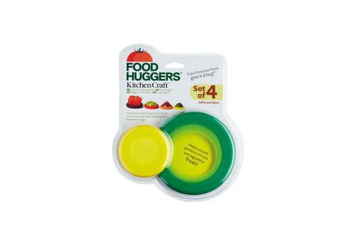 Kitchen Craft Kitchen Craft - food huggers (siliconen, set van 4)