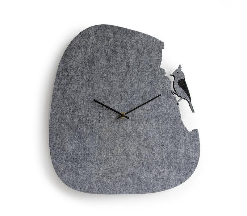 Florentina - kuifmees klok - 40cm