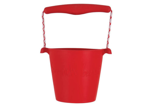 Scrunch Scrunch - bucket - red
