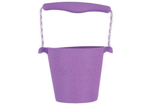 Scrunch Scrunch - bucket - purple