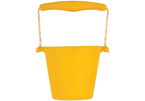 Scrunch Scrunch - bucket - yellow