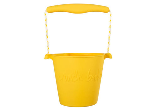 Scrunch Scrunch - bucket - buttercup yellow