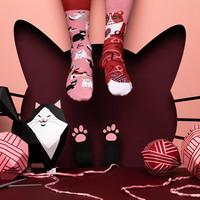 Many mornings - sokken - playful cat