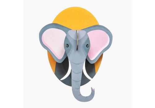 Studio Roof Studio Roof - muurdecoratie - olifant
