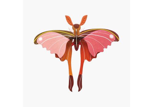 Studio Roof Studio Roof - muurdecoratie - vlinder roze