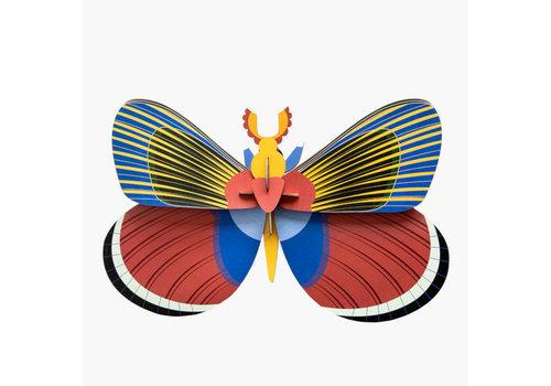 Studio Roof Studio Roof - muurdecoratie - grote vlinder