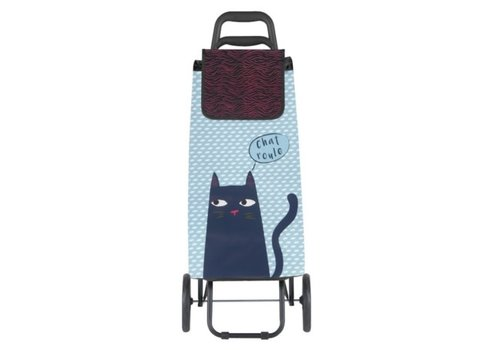 Derriere la porte Derriere la porte - trolley -  black cat